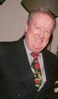 Tom Poston at the Polly Bergen Performance in Coconut Club.