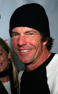Dennis Quaid at Benderspink & Thrive Records Night at the Sundance Film Festival.