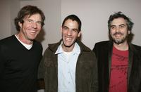 Dennis Quaid, Fernando Eimbcke and Alfonso Cuaron at the after party for the premiere of