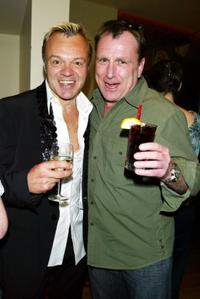 Graham Norton and Colin Quinn at the party to celebrate Comedy Central's