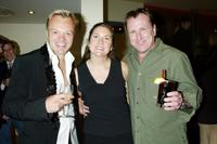 Graham Norton, Lauren Corrao and Colin Quinn at the party to celebrate Comedy Central's