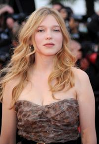 Lea Seydoux at the premiere of