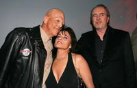 Michael Berryman, Janus Blythe and Wes Craven at the after party of the premiere of