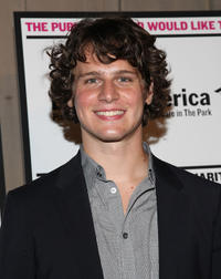 Jonathan Groff at the opening night of