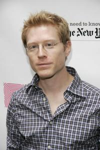 Anthony Rapp at the 19th Annual Broadway Flea Market & Grand Auction.
