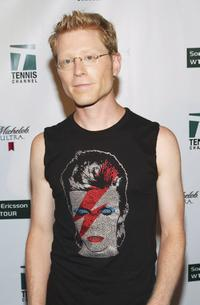 Anthony Rapp at the Glam Slam 05 to celebrate the kickoff of the US Open.