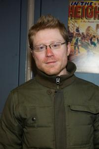 Anthony Rapp at the New York opening night of