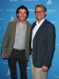 Steve Coogan and David Rasche at the screening of