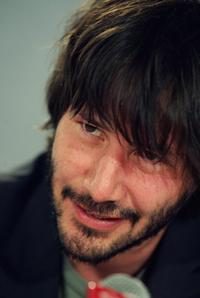 Keanu Reeves at the TIFF press conference for the film