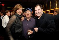 Margaret Colin, Peter Riegert and Richard Kind at the after party of the screening