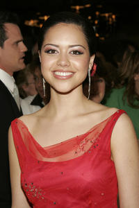 Alyssa Diaz at the National Television Academy Celebration for 32nd Daytime Emmy Awards in New York.
