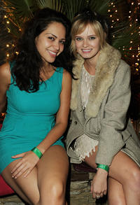 Alyssa Diaz and Sara Paxton at the after party of the premiere of