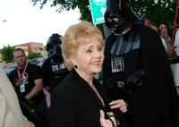 Debbie Reynolds at the premiere of
