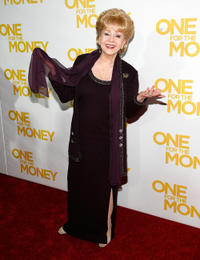Debbie Reynolds at the New York premiere of