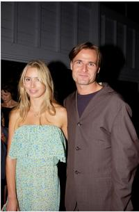 Kathryn Eisman and her boyfriend Simon Reynolds at the premiere of