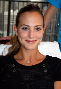 Nora Arnezeder at the DPA Gifting Lounge during the 2008 Toronto International Film Festival.