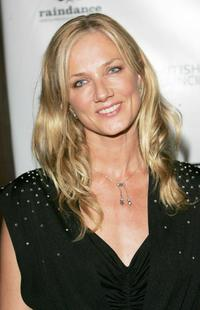 Joely Richardson at The British Independent Film Awards.