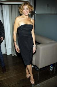 Natasha Richardson at the after party of Marc Jacobs and Louis Vuitton.
