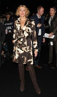 Natasha Richardson at the Michael Kors Fall 2008 fashion show during the Mercedes-Benz Fashion Week Fall 2008.