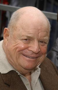 Don Rickles at the Rowan and Martin Get Star on The Hollywood Walk Of Fame.