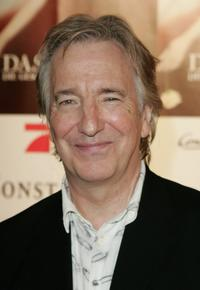 Alan Rickman at the world premiere of