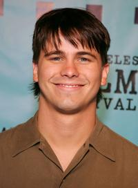 Jason Ritter at the premiere of