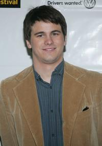 Jason Ritter at the opening night of