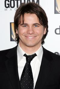 Jason Ritter at the Creative Coalition's 2006 spotlight and Christopher Reeves awards gala.