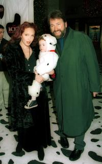 John Ritter and his family at the premiere of