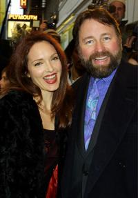 John Ritter and his Wife at the opening night of