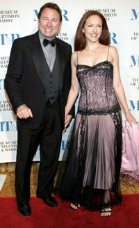 John Ritter and his Wife at the Museum of Television and Radio Gala.