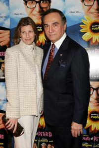 Elizabeth and Tony Lo Bianco at the premiere of
