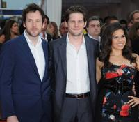 Ryan O'Nan, Ryan Piers Williams and America Ferrera at the premiere of