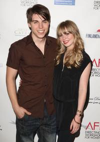 Nolan Gerard Funk and Portia Doubleday at the AFI Directing Workshop For Women Showcase.