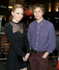 Portia Doubleday and Michael Cera at the AFI FEST screening of