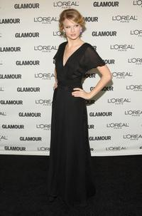 Taylor Swift at the 2008 Glamour Women of the Year Awards.