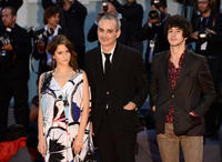 Lola Creton, Oliver Assayas and Clement Metayer at the premiere of