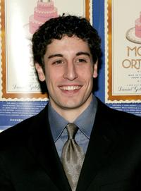 Jason Biggs at the afterparty for the New York opening night of