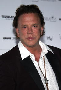 Mickey Rourke at the
