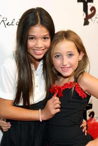 Krista Texeira and Noah Cyrus at the 2009 Totally Texty Teen Choice Awards Pre-Party.