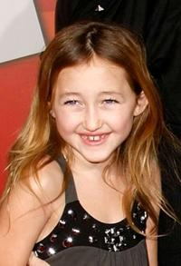 Noah Cyrus at the premiere of