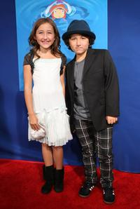 Noah Cyrus and Frankie Jonas at the industry screening of