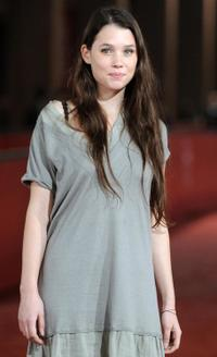 Astrid Berges-Frisbey at the Rome's Film Festival.