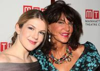 Lily Rabe and Mercedes Ruehl at the after party of the opening night of