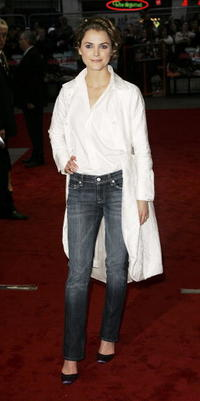 Keri Russell at the London premiere of