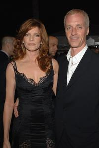 Rene Russo and her husband Dan Gilroy at the premiere of