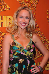 Anna Camp at the HBO's Post Golden Globe Awards party in California.