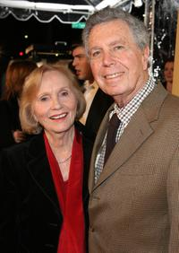 Eva Marie Saint with husband Jeffrey Hayden at the premiere of Focus Features'