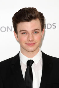 Chris Colfer at the 19th Annual Elton John AIDS Foundation's Oscar Viewing party in California.