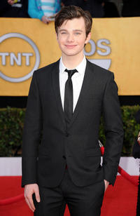 Chris Colfer at the 17th Annual Screen Actors Guild Awards in California.